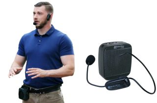 AmpliVox Unveils 2.4 GHz Digital Belt Blaster Personal PA System