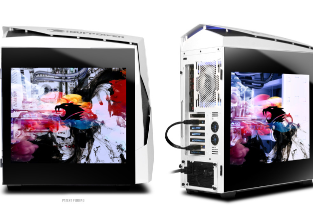 Meet The Pc With A Transparent Video Screen For A Side