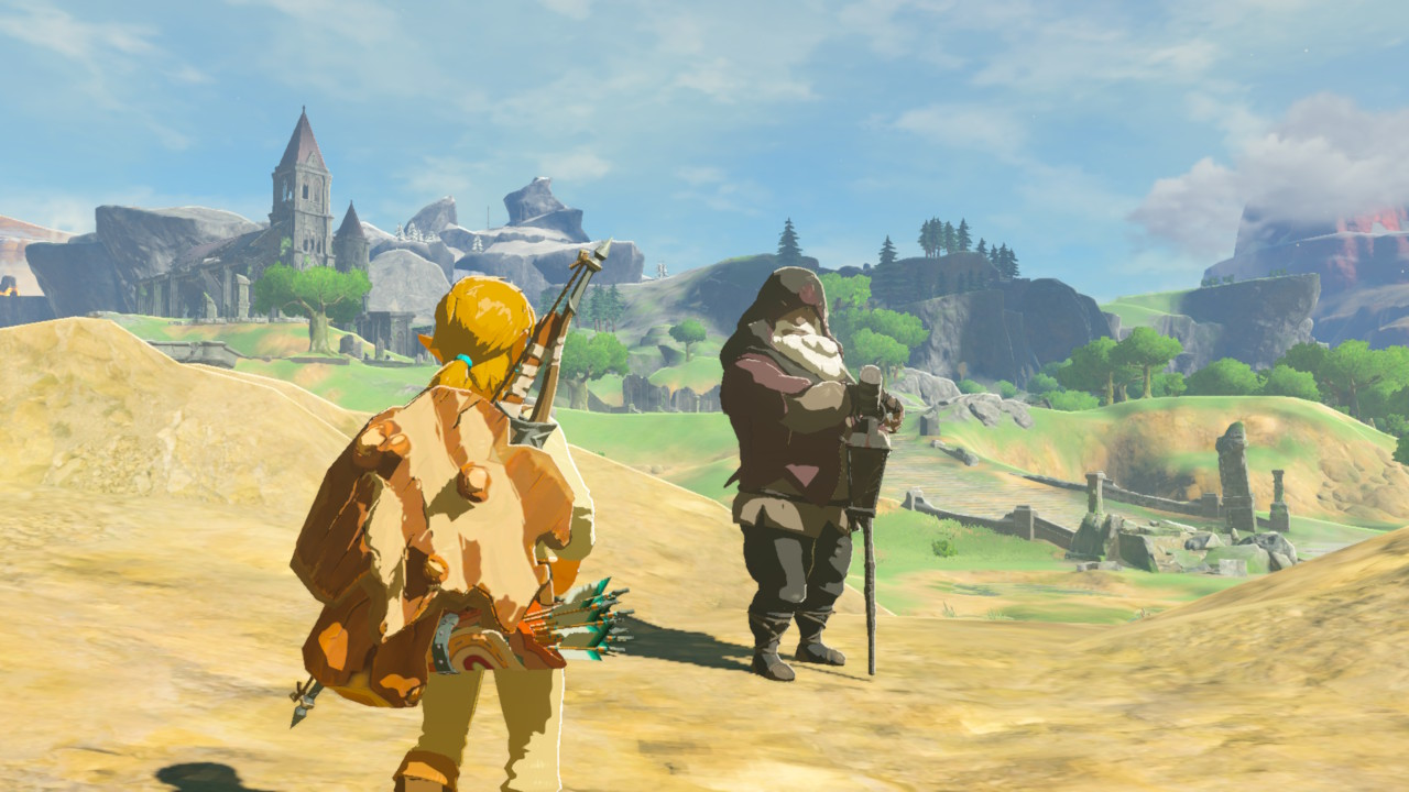 The Legend of Zelda: Breath of the Wild Old Man locations