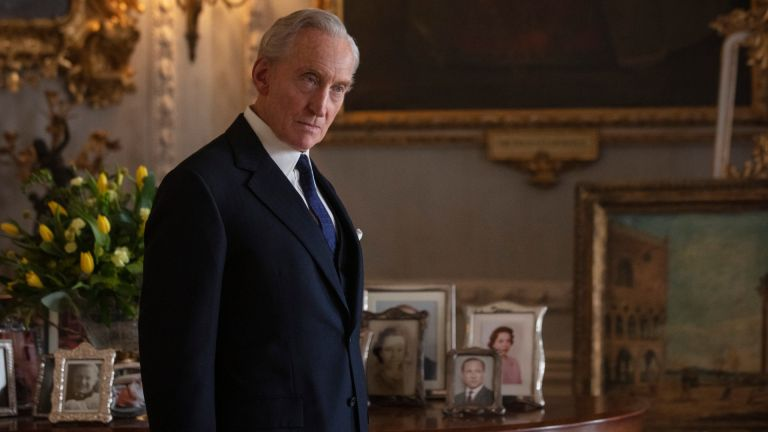 Lord Mountbatten played by Charles Dance in The Crown