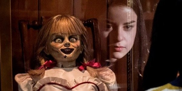 Annabelle in her case