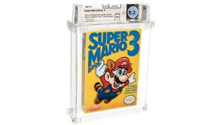 Super Mario Bros. 3 $156,000 auction