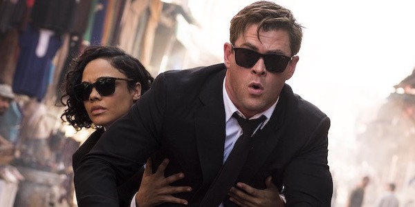 Tessa and Chris in Men in Black