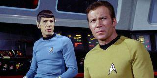 Spock and Captain Kirk Star Trek