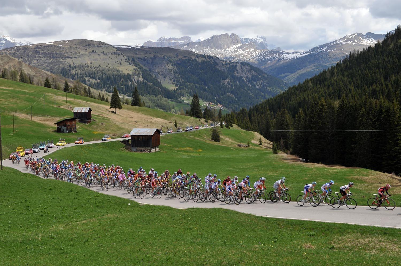 Giro d'Italia 2008 Passo Dordoi
