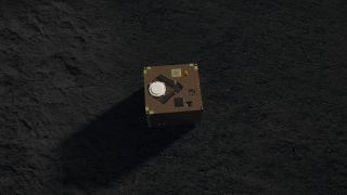 Tiny German Spacecraft Poised for Hopping Landing on Asteroid Ryugu