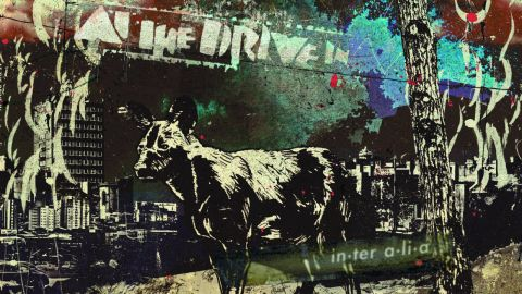 Cover art for At The Drive In - In•Ter A•Li•A album