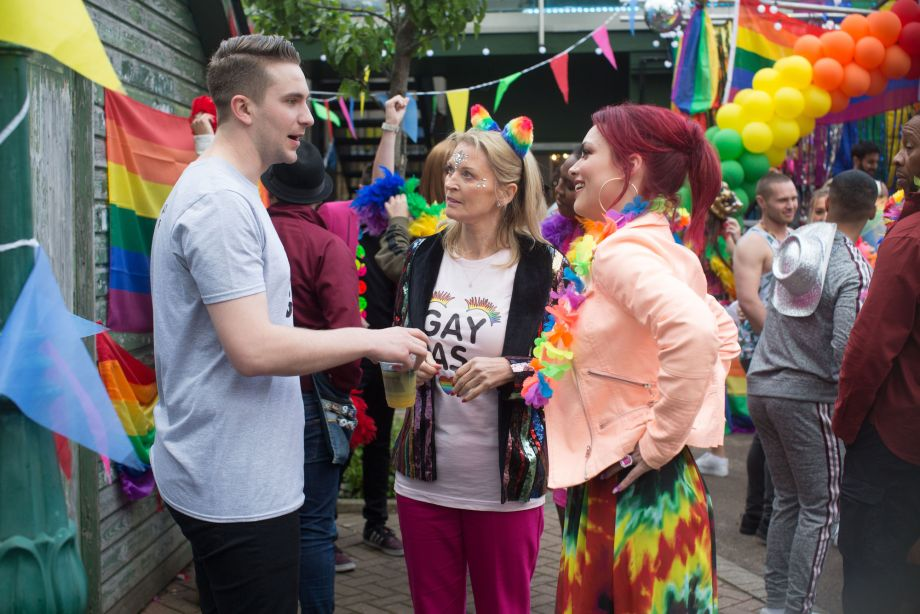 EastEnders Callum Highway and Whitney Dean