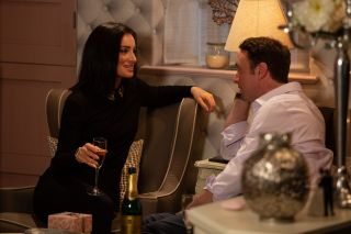 Sparks fly between Leyla and Liam in Emmerdale