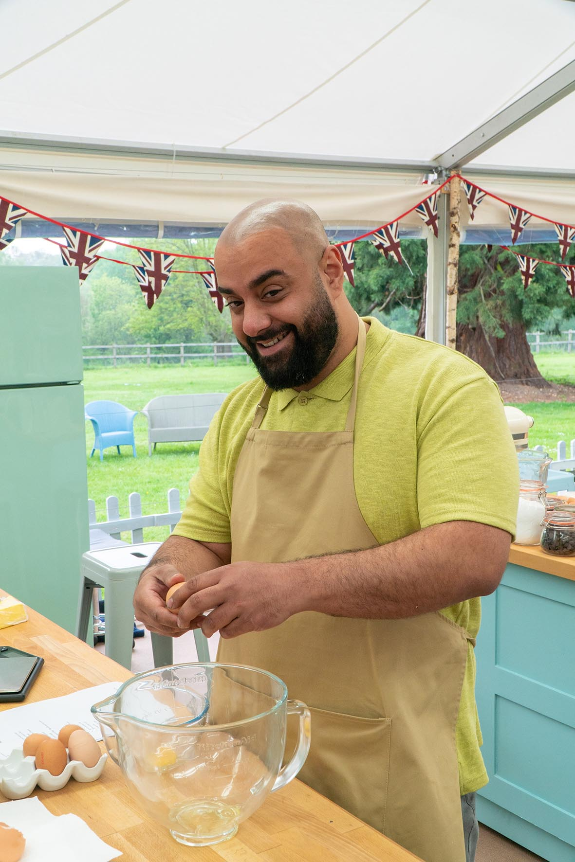 George - The Great British Bake Off