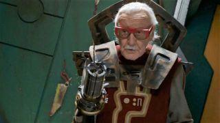 Stan Lee, during a Marvel appearance in MCU movie Thor: Ragnagrok