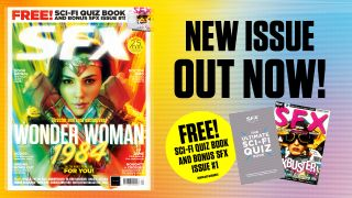 The cover of SFX issue 328 and the two free ebooks which come with it.