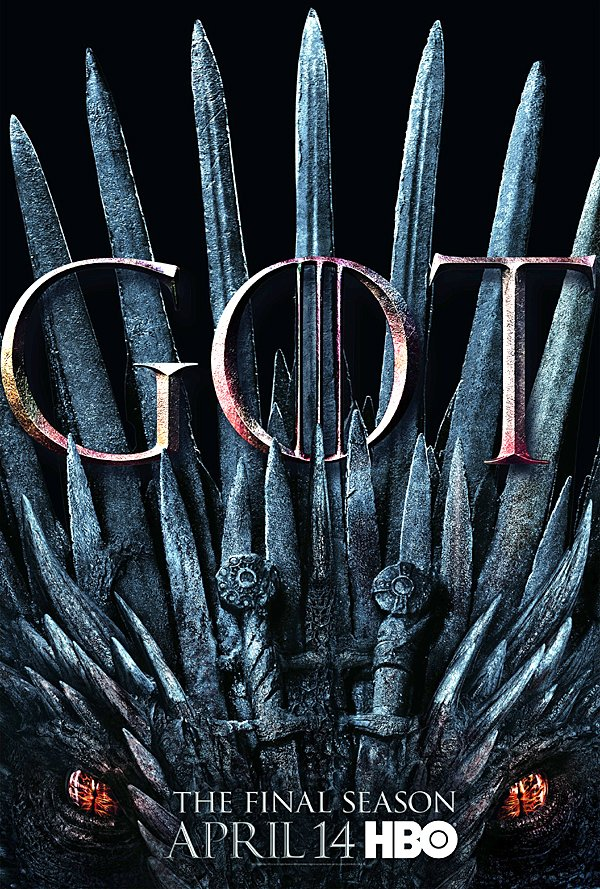 Game of Thrones final Season 8 poster