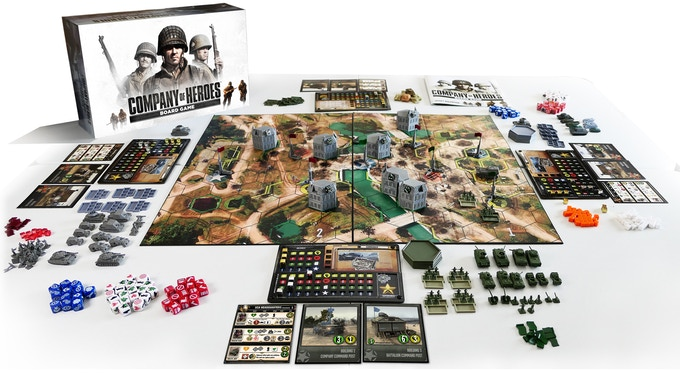 Best Board Games 2020.A Company Of Heroes Board Game Is Coming Pc Gamer