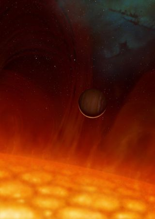 Hope for Earth: Planet Survives Star's Death Throes