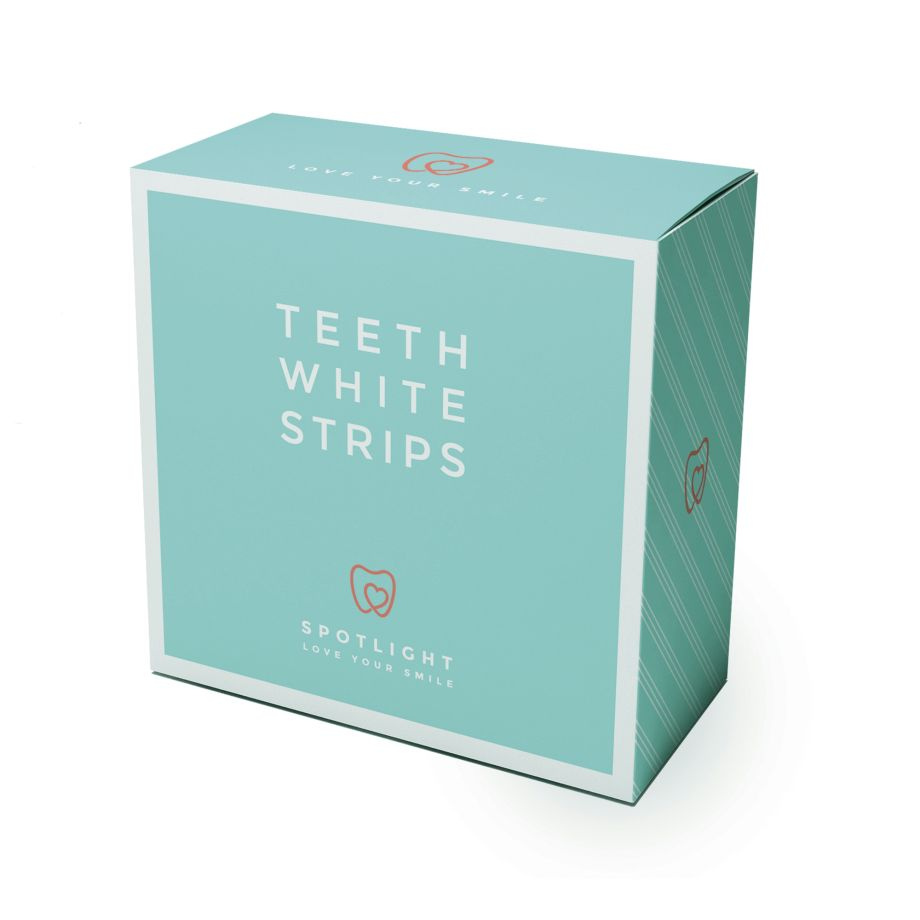 teeth whitening: Spotlight Teeth Whitening Strips, £39.95
