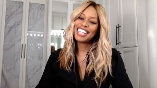 Laverne Cox laughing