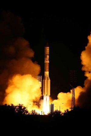 New Sirius XM Radio Satellite Blasts Off on Russian Rocket