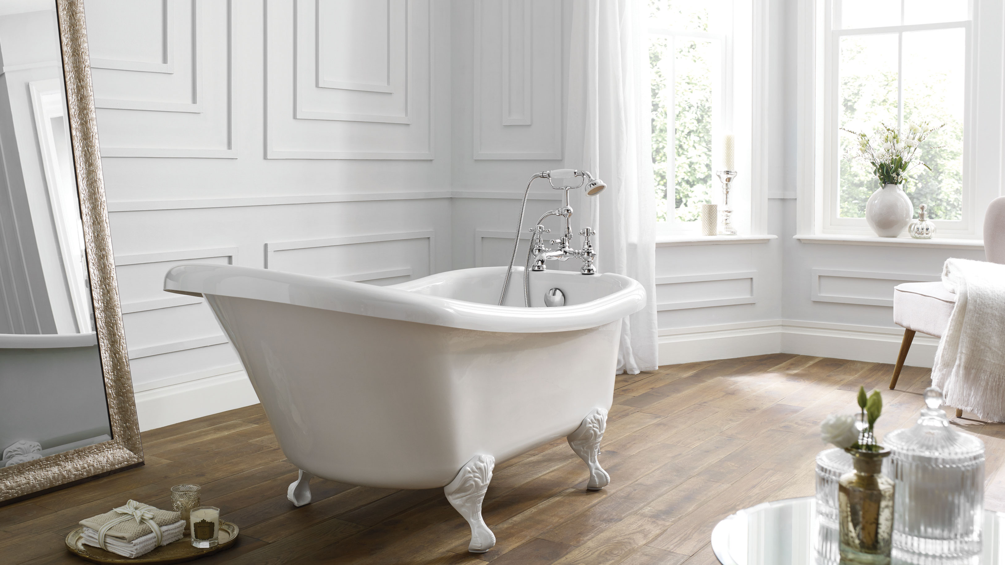 How to create a stylish bathroom on a budget   Real Homes
