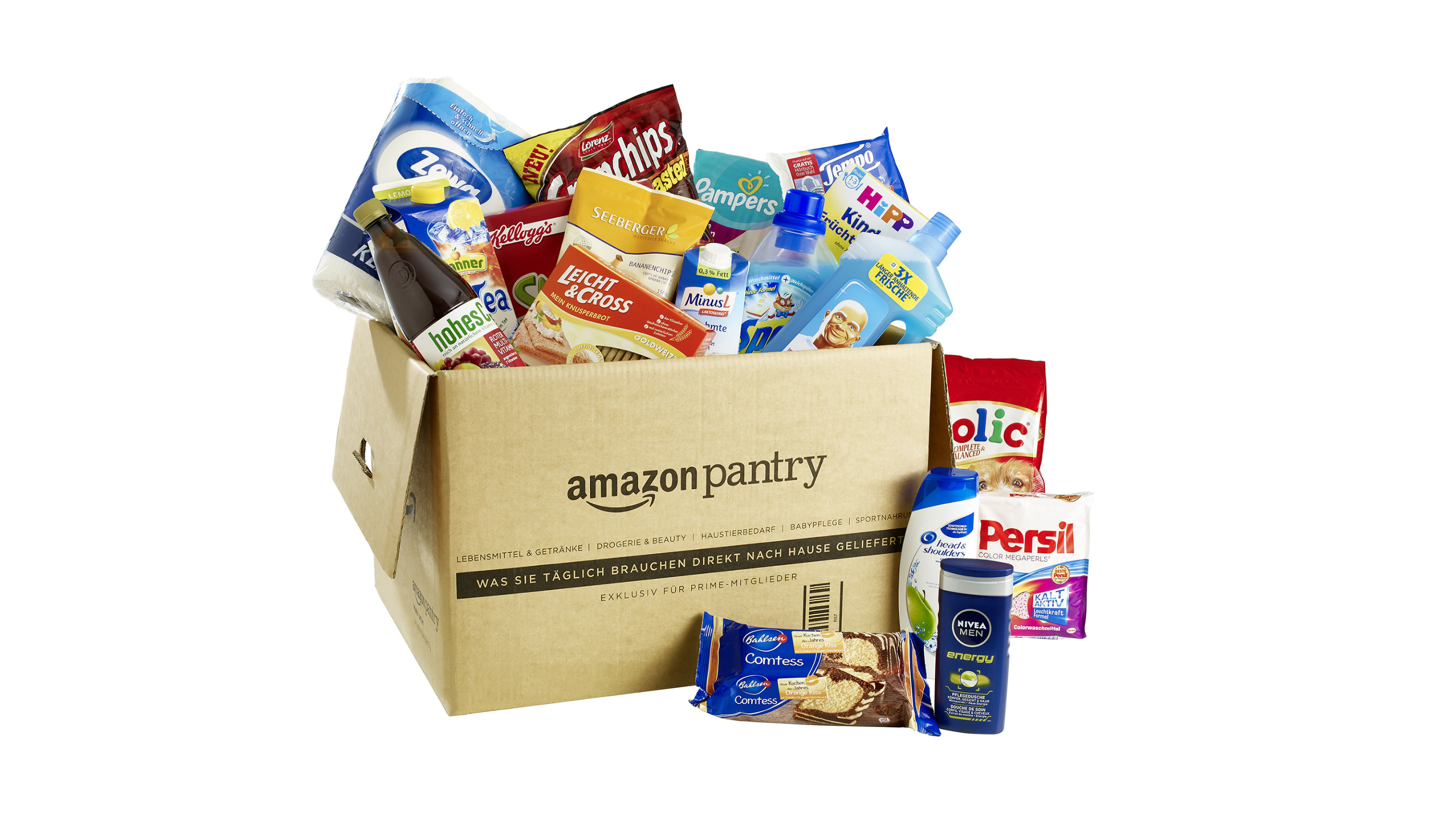 Food Delivery With Pantry T3
