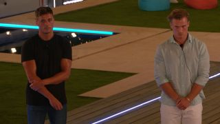 Love Island 2021 — Brad and Chuggs wait to find out who's dumped