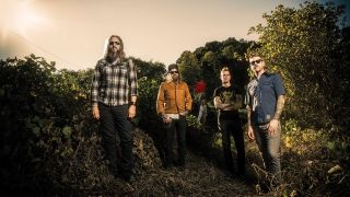 Emperors Of Sound, L-R: Troy Sanders, Brent Hinds, Brann Dailor and Bill Kelliher.