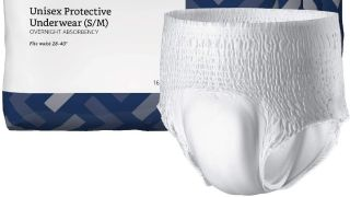 Adult diaper and package