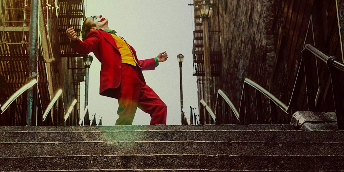 Arthur Fleck dancing in Joker