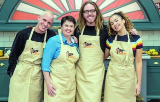 Serious drama as four more celebs get baking in aid of Stand Up to Cancer