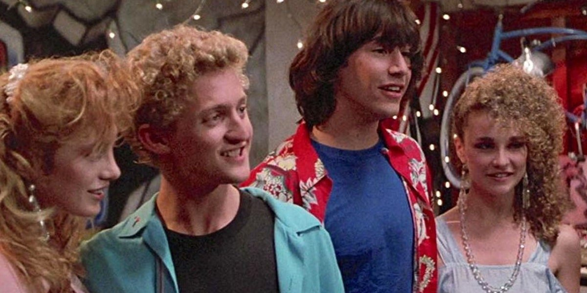 Bill and Ted in Bogus Journey