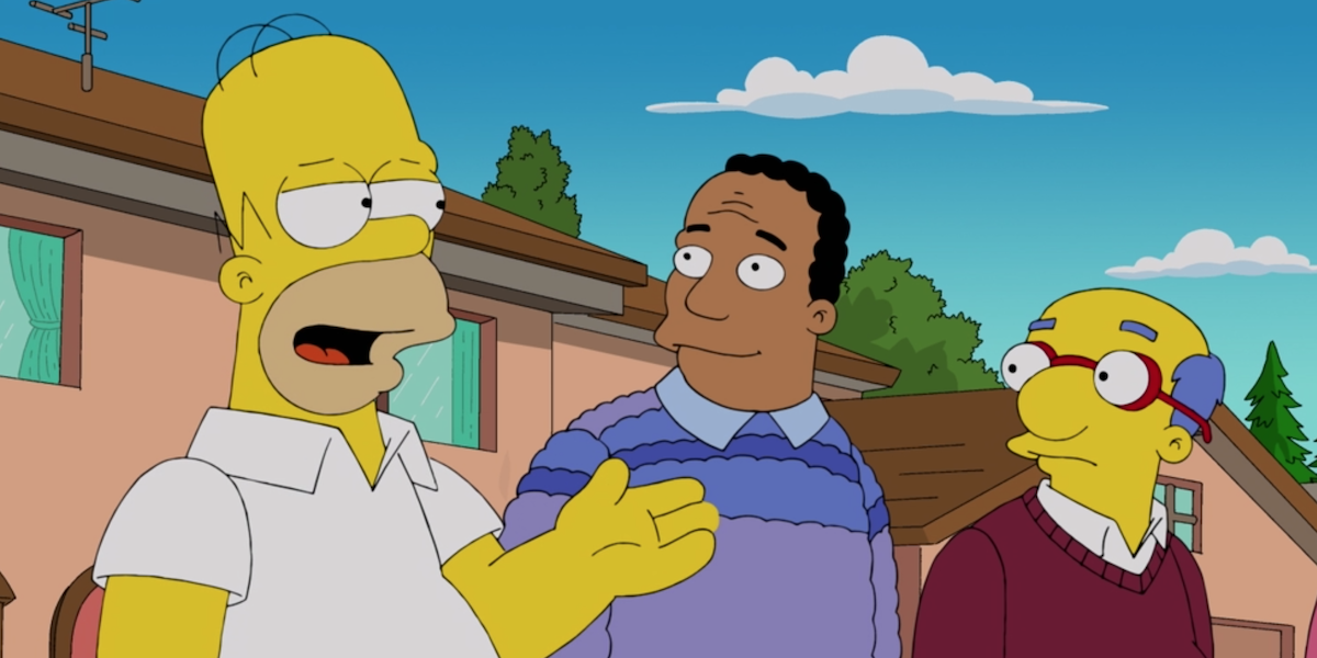 The simpsons band homer dr. hibbert and kirk