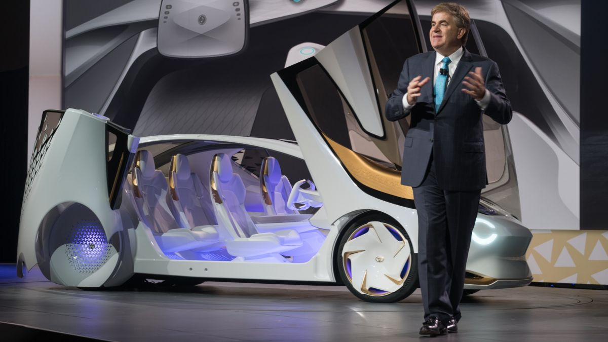 This is what it's like inside Toyota's Concept-i | TechRadar