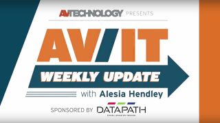 [VIDEO] AV/IT Weekly Update: NEC Laser Projectors, Allen & Heath Training, Black Box Coalesce, QSC AcousticCoverage
