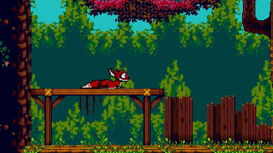 16-bit platformer Tanglewood is available for Sega Genesis now