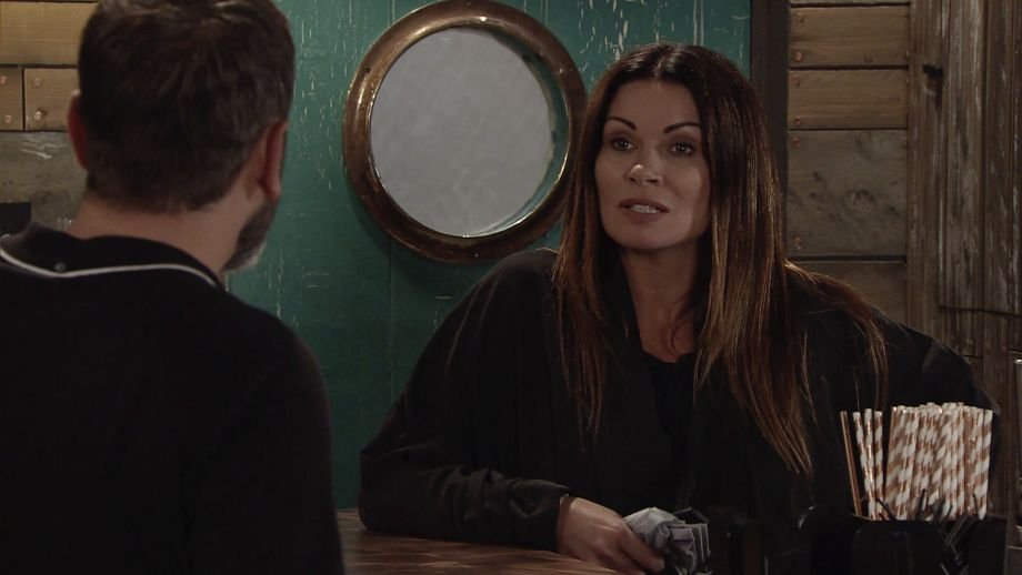 Robert Preston tells Carla Connor that her family has been keeping tabs on her...