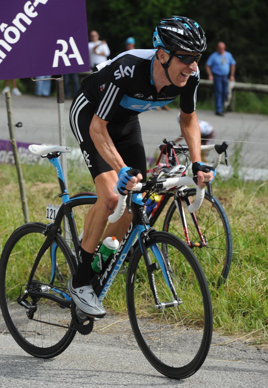 Bradley Wiggins, Criterium du Dauphine 2011, stage one