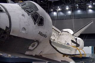 Atlantis' Payload Bay Doors Opened