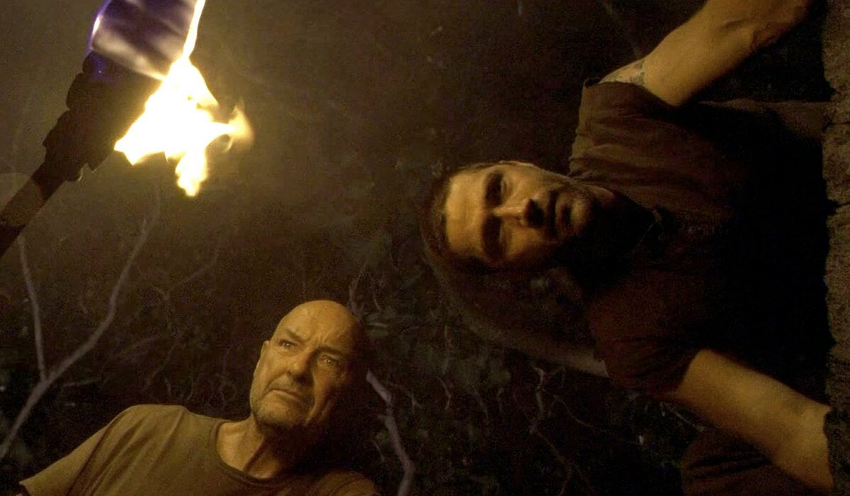 John Locke and Jack Shepard at the Hatch Lost Season 1