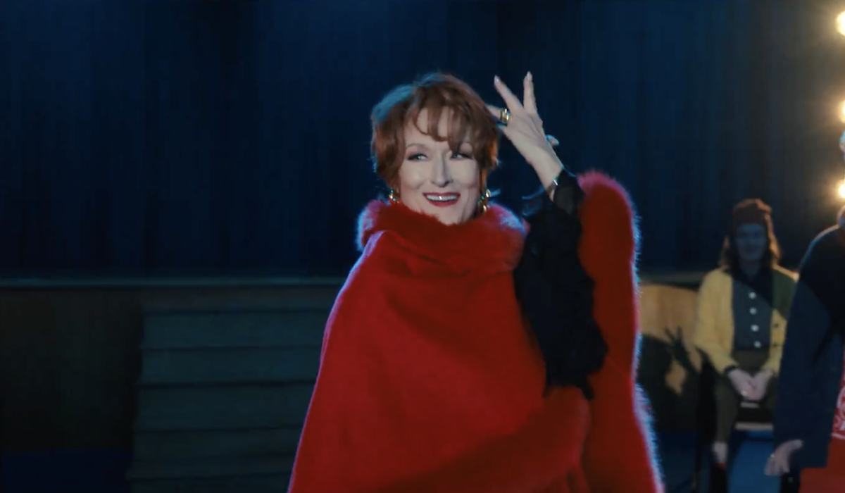 Meryl Streep in It's Not About Me number in The Prom