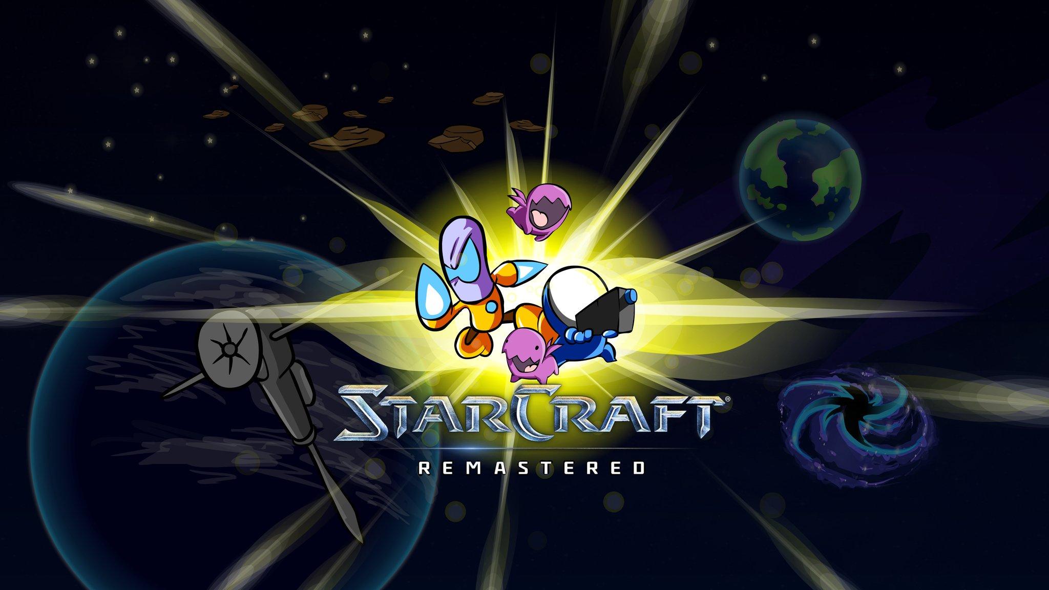 StarCraft: Remastered is getting a cartoon reskin | PC Gamer