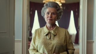 Imelda Staunton in The Crown season 5.