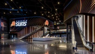 Phoenix Suns Arena adds massive lobby video wall powered by Christie Spyder X80