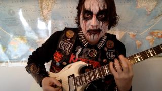 Lance the King of Black Metal of Witch Taint