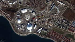 2014 Olympics Village View From Space