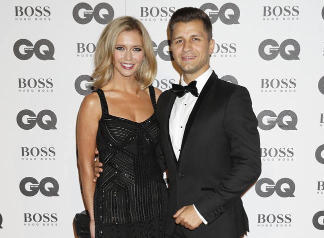 Rachel Riley And Pasha At The Gq Awards Last Year