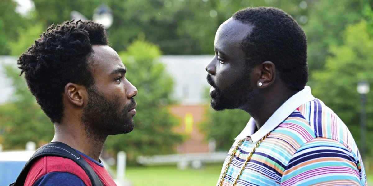 Donald Glover and Brian Tyree Henry in Atlanta