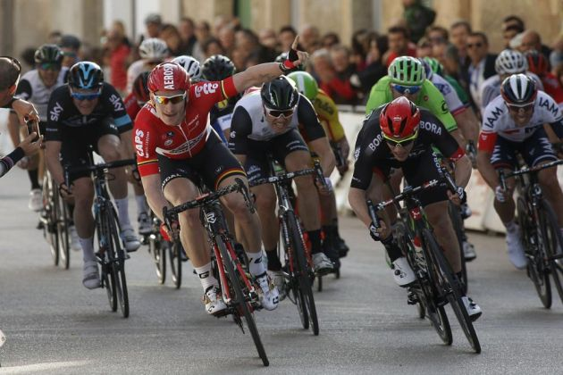 Andre Greipel wins day one of the Challenge Mallorca