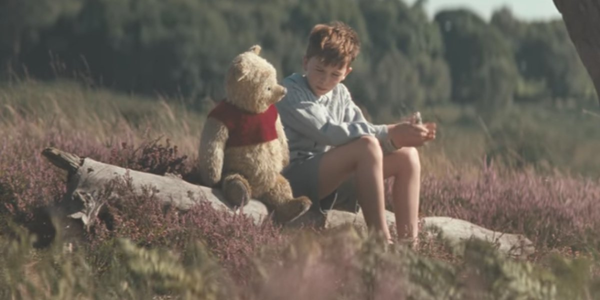 Winnie The Pooh and Orton O'Brien in Christopher Robin