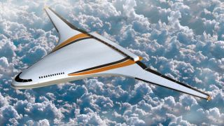 Blended wing body aircraft conception, future aircraft