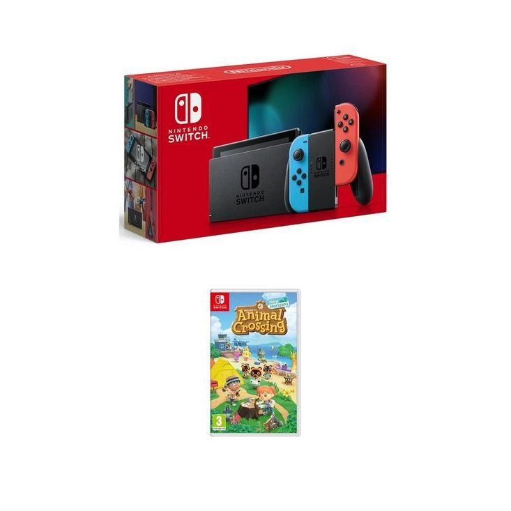 animal crossing switch console uk argos